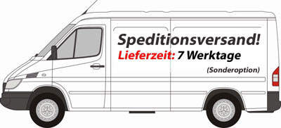 7 Arbeitstage Spedition